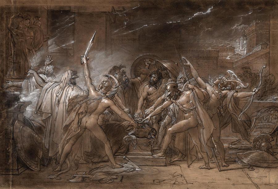 Reprezentările tragediei Antigonei și ale labdacizilor în artă