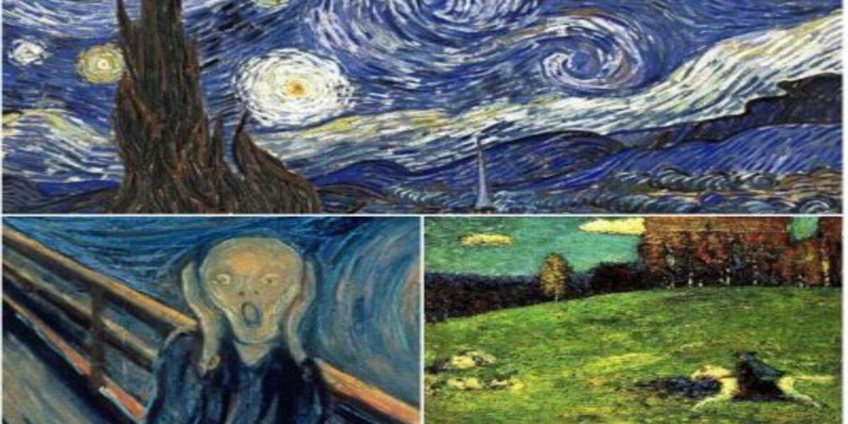 Scurtă prezentare a capodoperelor centrale expresioniste